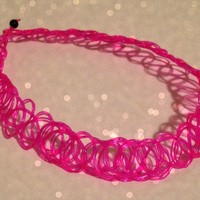 Pink Tattoo Choker