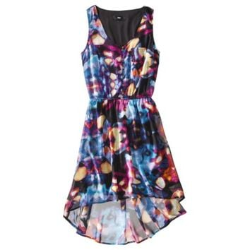 Mossimo® Women's Sleeveless Hi-Lo Woven Dress - Assorted Prints