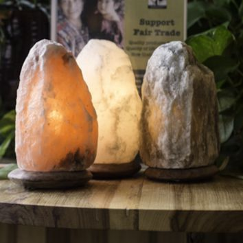 HEALTHY BEDROOM AND OFFICE SALT LAMP SET