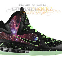 "Nike LeBron 9 Galaxy Foamposite Custom ""King of the Galaxy"" by GourmetKickz"