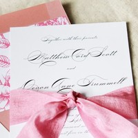 Luxury Wedding Invitation, English Garden Wedding Sets, elegant wedding sets, invites, classy, luxurious script calligraphy invitations