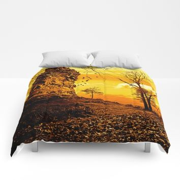 Golden nature Comforters by Pirmin Nohr