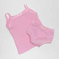 American Girl Doll Clothes Pink Undershirt and Panties Set