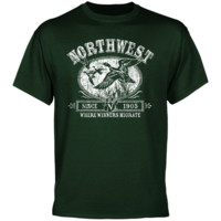 Northwest Missouri State Bearcats Winners Migrate T-Shirt - Green