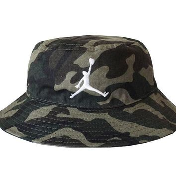 Jordan Women Men Embroidery Sun Visor Bucket Hat Fashion Hat Cap-2