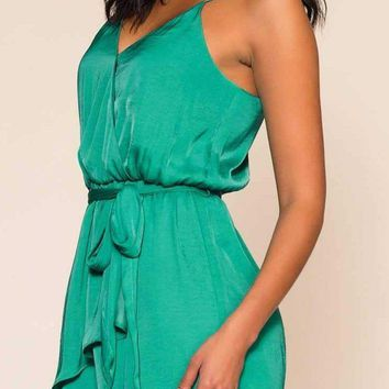Ocean Dreams Dress - Sea Green