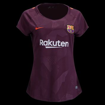KUYOU Barcelona  2017/18 Third away Women Shirt Personalized Name and Number