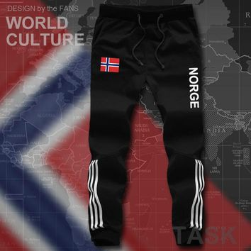 Norway Norge mens pants joggers jumpsuit sweatpants track cargo sweat fitness casual nation country flag 2017 Nordmann Norwegian