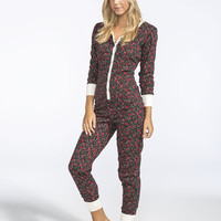 Full Tilt Dream Floral Onesuit Multi  In Sizes