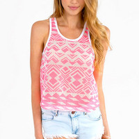 Peak Time Tank Top $23