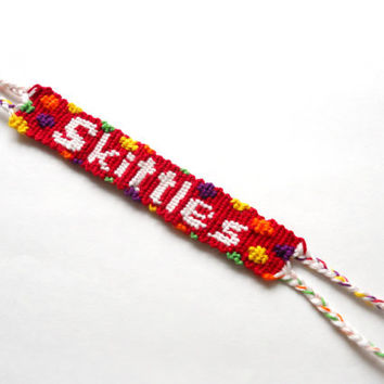 Skittles Colorful Handmade Friendship Bracelet