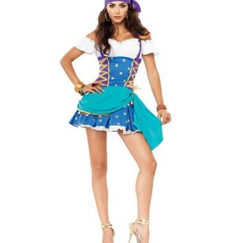 Gypsy Princess Adult Womens Costume – Spirit Halloween
