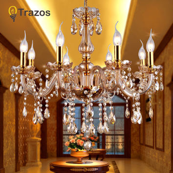 Crystal Ceiling Chandelier Home For Living Dining Room Lamp Indoor Home Decoration Bedroom Lights Crystal Led Lamp