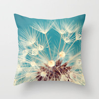 just dandy Throw Pillow by Sylvia Cook Photography | Society6