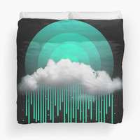 'Rainy Daze' Duvet Cover by soaringanchor