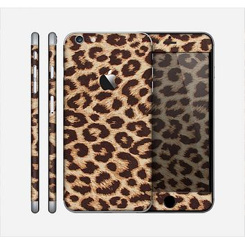 The Simple Vector Cheetah Print Skin for the Apple iPhone 6 Plus