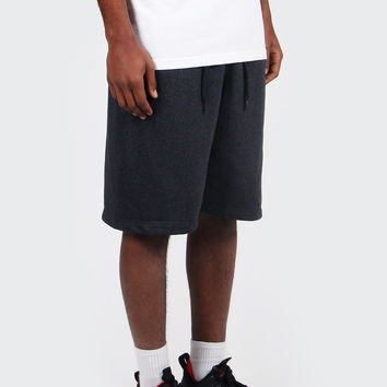 AW77 FT Alumni Shoebox Shorts - anthracite/black/heather
