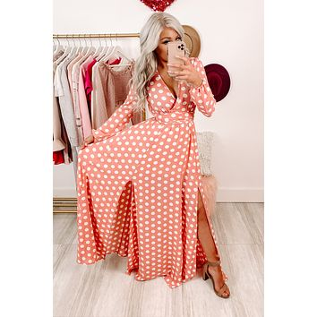 A Dream Come True Maxi Dress (Pink)
