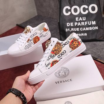 Versace Men Fashion Casual Sneakers Sport Shoes