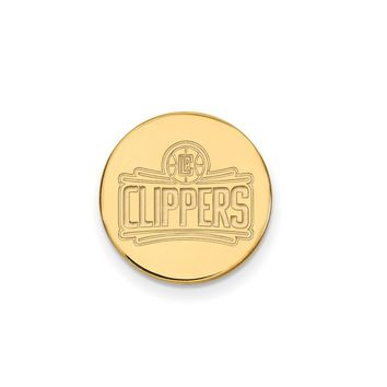 NBA Los Angeles Clippers Lapel Pin in 14k Yellow Gold
