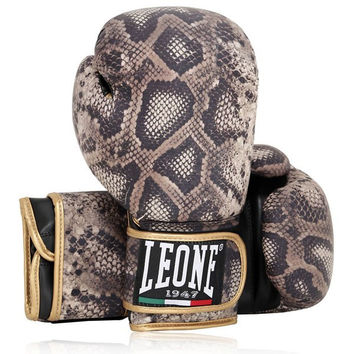 Limited-Edition Snakeskin Style Boxing Gloves