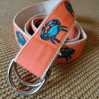 CJ Laing Blue Crab Belt, by CJ Laing - CJ Laing on Taigan