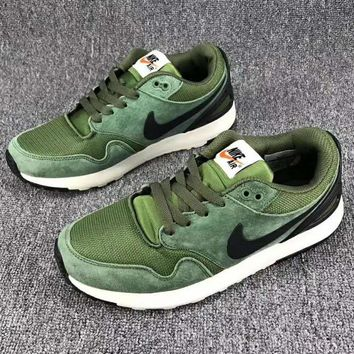 NIKE AIR Vibenna Trending Fashion Casual Men Sports Shoes Army green G-CSXY