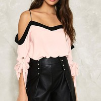 Megan Cold Shoulder Top