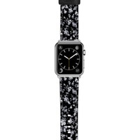 Casetify Vintage Flowers Saffiano Faux Leather Apple Watch Strap | Nordstrom