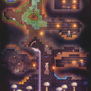 Terraria Video Game Poster 22x34