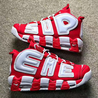 shosouvenir   :   Nike Air More Uptempo x Supreme Gym shoes