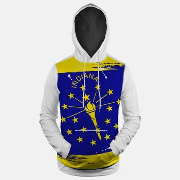 Indiana State Flag Hoodie (Ships in 2 Weeks)