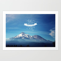 daring adventure Art Print by Sylvia Cook Photography