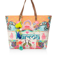 Karma Print Tote Bag | Multi | Accessorize