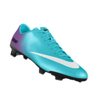 Nike Mercurial Veloce FG iD Custom Women's Firm-Ground Soccer Cleats - Blue