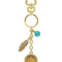 Feather Coin Keyfob
