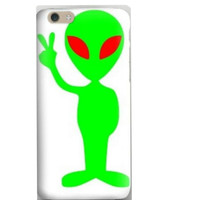Cute Alien Peace iPhone Cover Tumblr Inspired