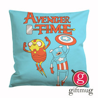 Adventure Time Avengers Cushion Case / Pillow Case