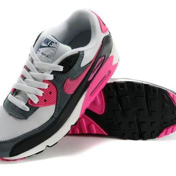 Nike Air Max 90 Women Sport Casual Multicolor Air Cushion Sneakers Running Shoes-8