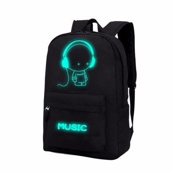 "Luminous ""Flash Messages Fun Backpack"