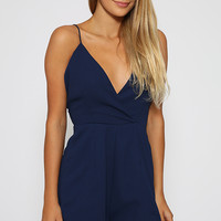 Derby Playsuit - Navy