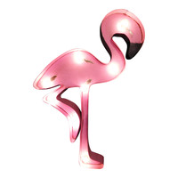 Flamingo Symbol Marquee Sign Light