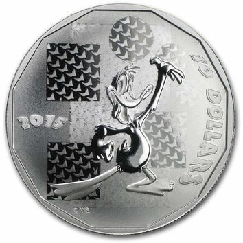 2015 Canada 1/2 oz Silver $10 Looney Tunes Daffy Duck