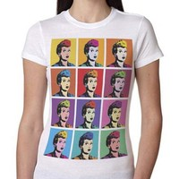 Pop Art Lucy Sublimated T-Shirts | LucyStore.com