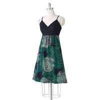 SONOMA life + style Medallion Mixed-Media Dress