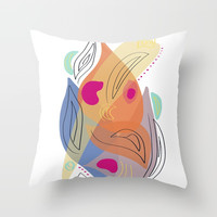 Modern minimal forms 21 Throw Pillow by naturalcolors
