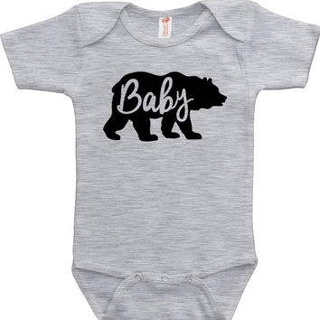 Funny Baby Bodysuit Baby Clothes Baby Bear Kids Clothes Baby Gifts For Kids Shirt Toddler T Shirt Infant Clothing Newborn MAT-667