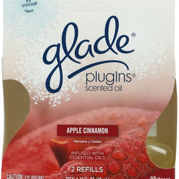 home fragrance: glade plug-ins apple cinnamon Case of 6