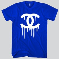 Chanel Dripping Unisex T-shirt Funny and Music