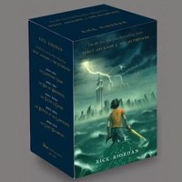 Percy Jackson and the Olympians Hardcover Boxed Set, Books 1-5